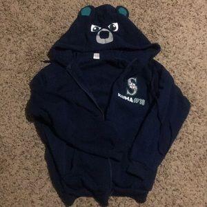 Seattle Mariners bear hoodie